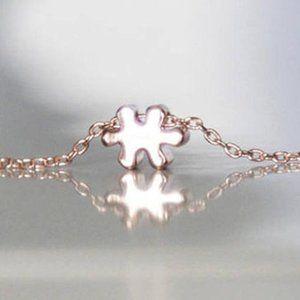 Puzzle Necklace/Bracelet/Anklet, Tiny, Handmade 🌸